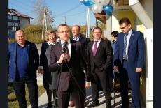 Первый замгубернатора Юрий Петухов поздравил жителей Чулымского района с 95-летием образования территории