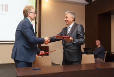 Наукоград Кольцово и муниципалитет сербского Гроцка заключили соглашение о побратимстве