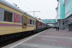 Поезд «За духовное возрождение России» отправился в путь по районам Новосибирской области