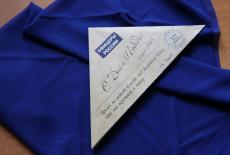 …И между строчек синий платочек