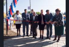 В Колывани открылось новое общественное пространство, благоустроенное по приоритетному проекту «Формирование комфортной городской среды»