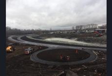 В Тогучине в рамках нацпроекта завершается строительство новой зоны отдыха с набережной