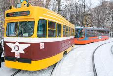 80 лет новосибирскому трамваю
