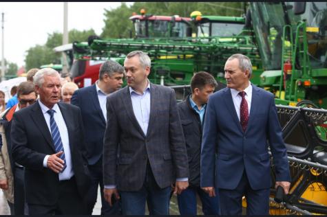 Андрей Травников: Уже сегодня мы должны прорабатывать новые механизмы реализации зерна