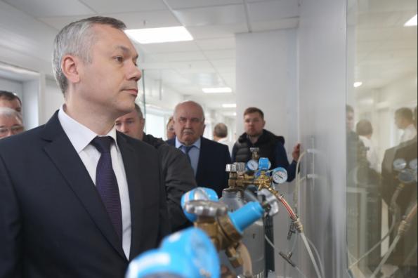 Будущее Новосибирской области связано с развитием высокотехнологичных предприятий