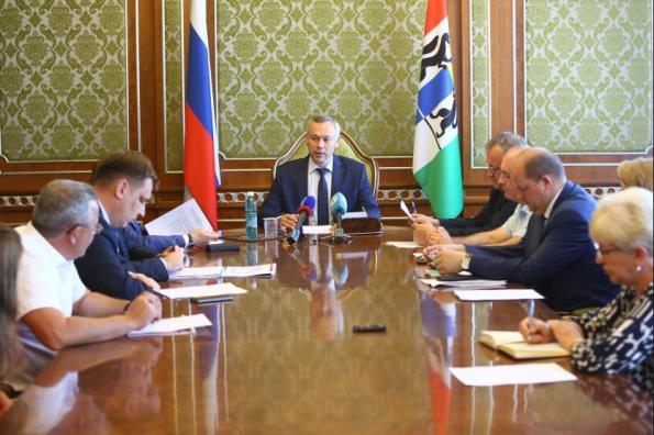 Андрей Травников: Приложу все усилия, чтобы проект реконструкции школы №51 получил необходимое финансирование
