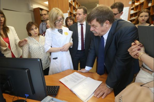 Делегация Минздрава РФ положительно оценила промежуточные результаты внедрения в Новосибирской области бережливых технологий