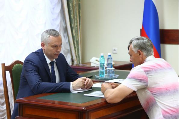 Андрей Травников провел личный прием граждан в приемной Президента РФ в СФО