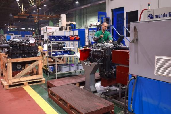 Петербургский тракторный завод успешно развивается