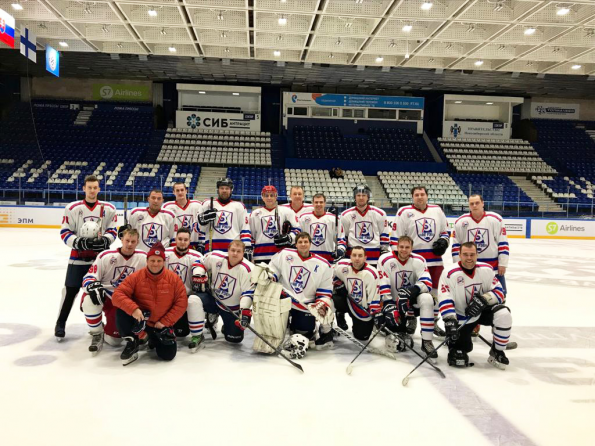 Хоккейная команда АО «РЭС» добавила в копилку еще одну победу