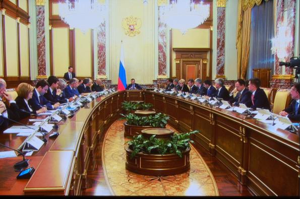 Андрей Травников принял участие в заседании Правительства РФ по подведению предварительных итогов уборки урожая-2019