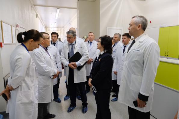 Губернатору представили нового руководителя ННИИТО имени Цивьяна