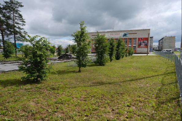 Губернатор Андрей Травников проконтролировал ход работ по благоустройству в Искитимском районе