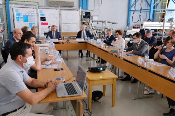 Началась рабочая поездка в Новосибирскую область Министра науки  и высшего образования РФ Валерия Фалькова