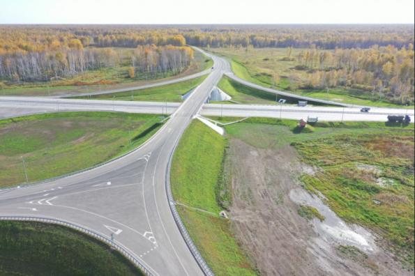Председатель Правительства РФ и Губернатор Новосибирской области открыли движение на участке дороги «Иртыш»