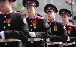 Юные казаки-кадеты посоревнуются в надевании средств индивидуальной защиты