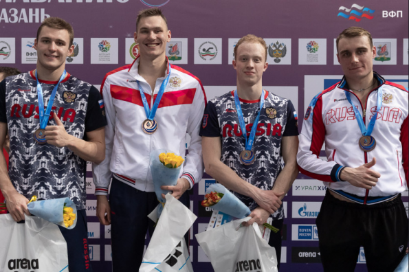 13 медалей выиграли пловцы из Новосибирской области на чемпионате России