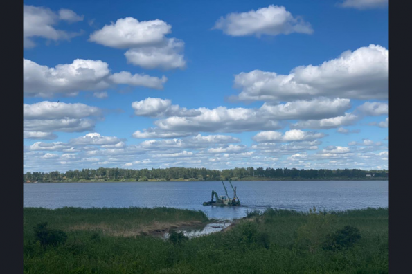 В Половинном озере с новой силой забьют родники благодаря нацпроекту