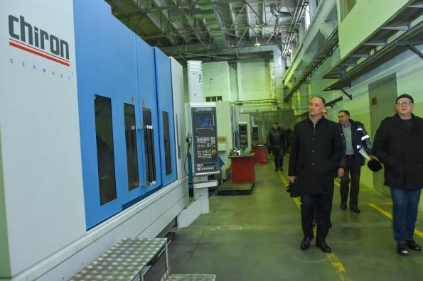 Руководство Ассоциации «Росспецмаш» посетило промышленные предприятия Новосибирской области