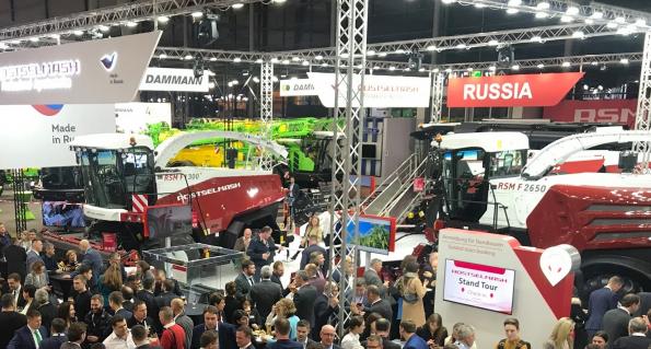 Рекордный по площади Российский павильон начал работу на выставке AGRITECHNICA 2019