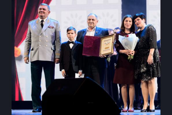 Новосибирская семья получила награду Всероссийского конкурса «Семья года»