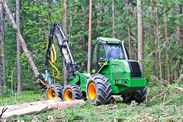 Машины для лесной отрасли от «Амкодор»