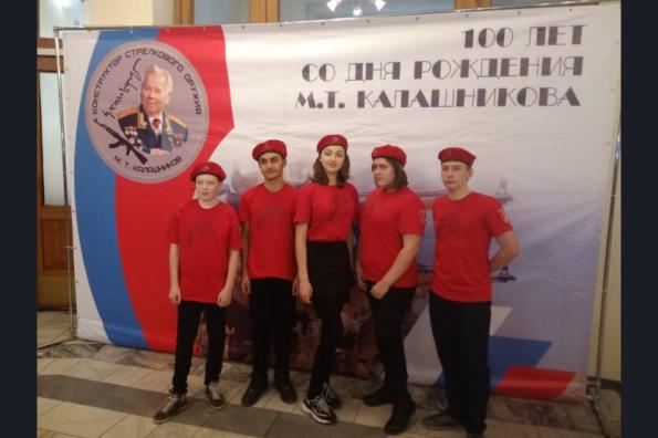 Мероприятия в честь 100-летия со дня рождения знаменитого оружейника М.Т. Калашникова проходят в Новосибирской области