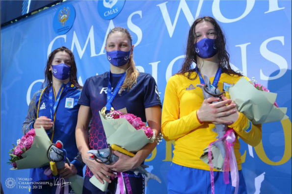 Новосибирские спортсмены-подводники завоевали золотые и серебряные медали на Чемпионате мира