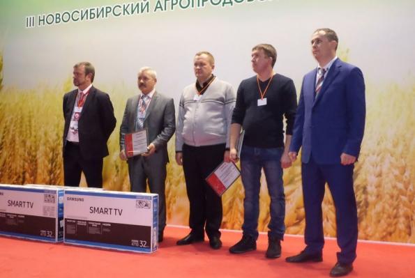 Ростсельмаш наградил лучших аграриев НСО