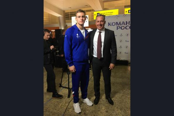 Новосибирский пловец занял первое место на юношеских Олимпийских играх