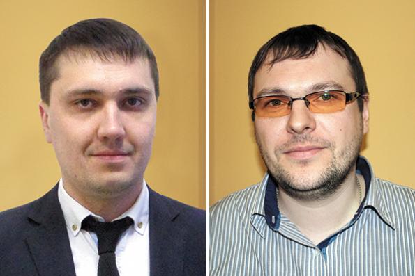 Антон Домолевский и Вадим Долбышев