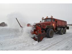 Минтранс региона контролирует уборку снега на областных автодорогах