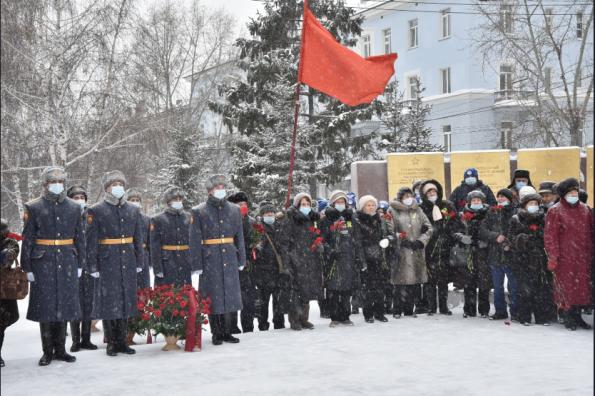 В Новосибирской области почтили память защитников блокадного Ленинграда