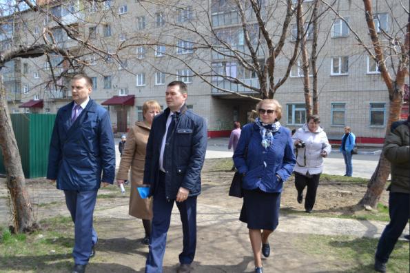 МинЖКХ региона проконтролировало выполнение работ по проекту «Формирование комфортной городской среды» в Бердске