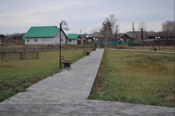 Новые дворы и парки появились в Ордынском районе в рамках нацпроекта