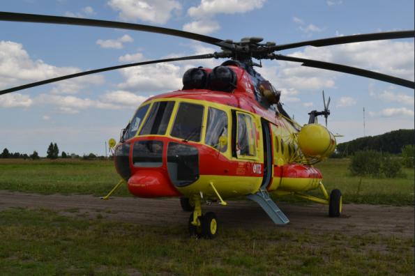 Вертолет санавиации приступил к работе в Новосибирской области в рамках нацпроекта «Здравоохранение»