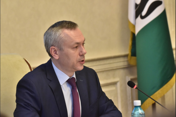 Андрей Травников поручил усилить меры безопасности при проведении инженерных работ на придомовых территориях