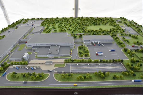Губернатор Андрей Травников дал старт строительству завода по производству снеков компании PepsiCo