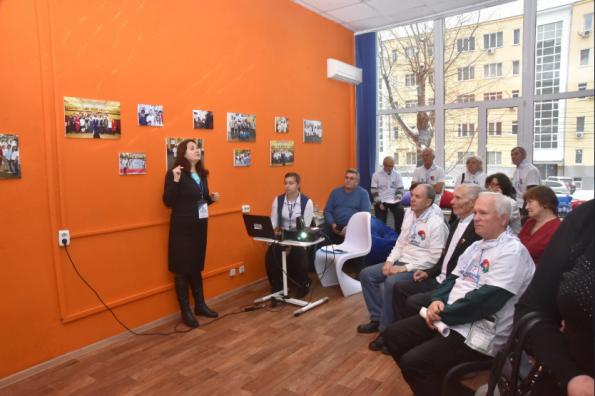 В Новосибирской области открылся региональный центр «серебряного» волонтерства