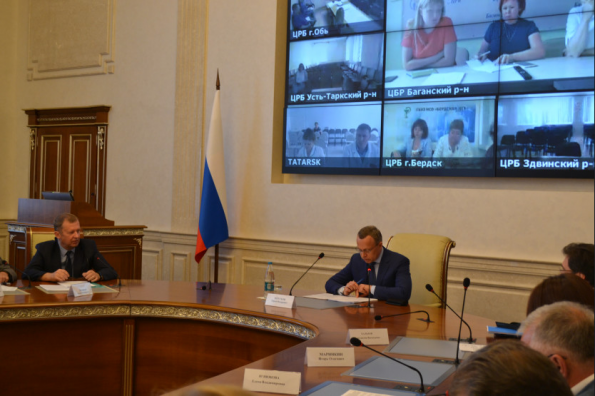 Передовой опыт в детском здравоохранении Новосибирской области рассмотрен на заседании проектного комитета