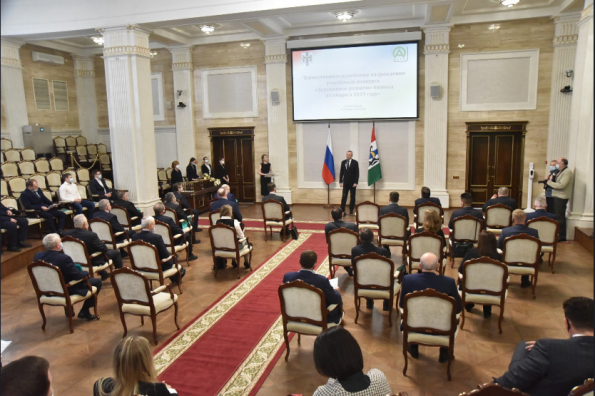 Губернатор наградил предпринимателей региона за успешное развитие бизнеса в Сибири