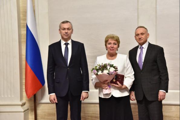 Андрей Травников вручил государственные награды заслуженным новосибирцам