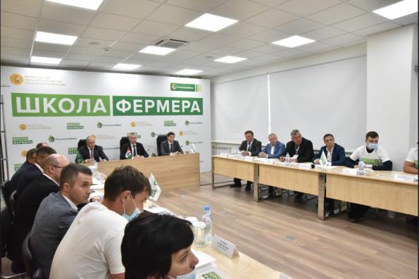 Андрей Травников принял участие в открытии «Школы фермера» при аграрном университете