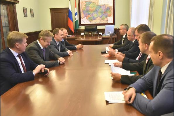 Андрей Травников провел совещание по развитию энергосистемы Новосибирской области