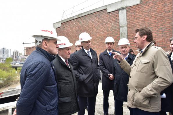 Андрей Травников: Региональный центр волейбола должен быть готов принять спортсменов уже в мае 2020 года