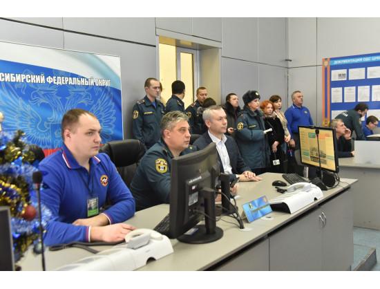 Врио Губернатора Андрей Травников провёл внеочередное заседание комиссии по предупреждению и ликвидации чрезвычайных ситуаций