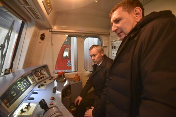 Андрей Травников: Локомотивное депо как градообразующее предприятие Барабинска получит дополнительное технологическое развитие