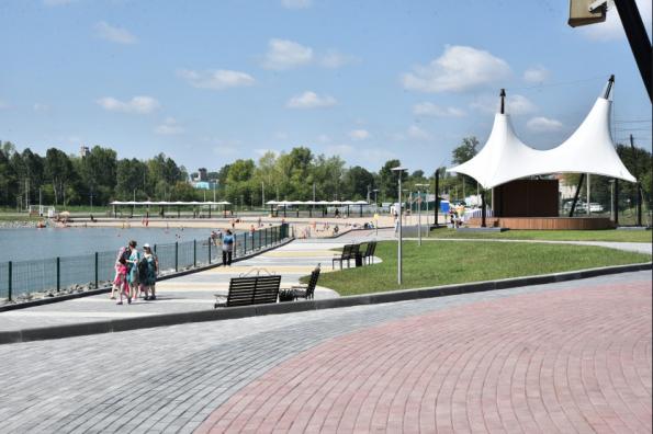 Набережная в Тогучине – пример активной позиции жителей и эффективного воплощения их идей, предложений властями