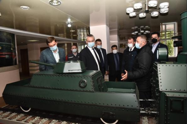 Андрей Травников поздравил барабинцев с 85-летием района