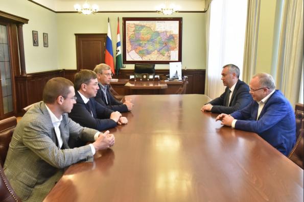 Правительство Новосибирской области и АФК «Система» договорились о сотрудничестве